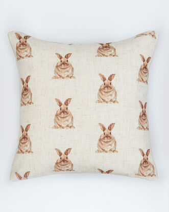 Ditsy Rabbit Cushion