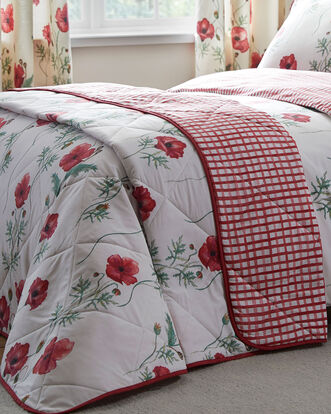 Poppies Bedspread