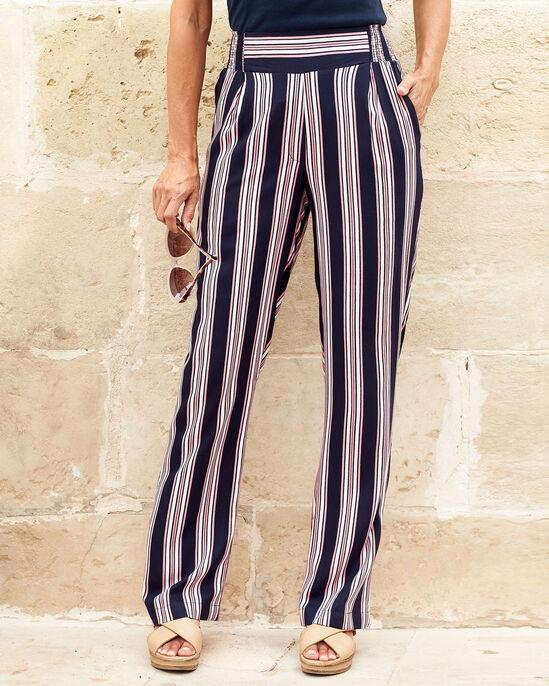 Easy Wear Print Trousers