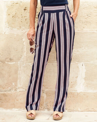 Easy Wear Print Trousers