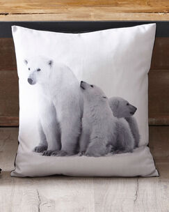 Baby Polar Bear Cushion