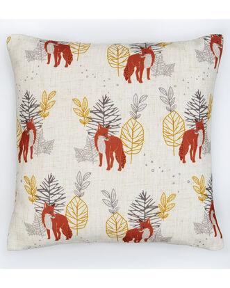 Ditsy Fox Cushion