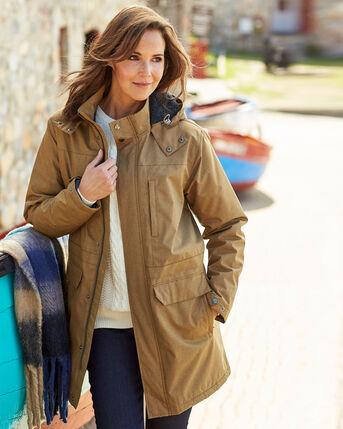 Gillside Showerproof Fleece Lined Coat