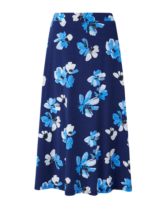 Tummy Control Printed Skirt