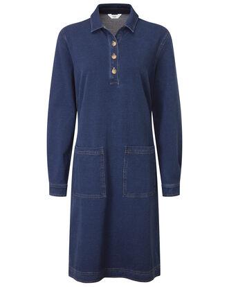 Jersey Denim Dress