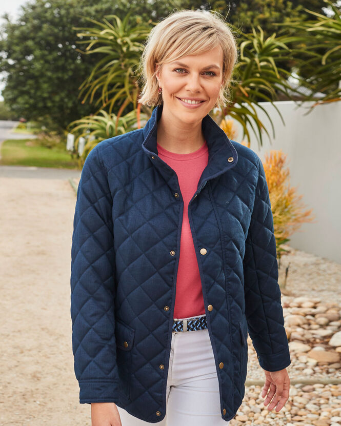 Women's Jackets for All Seasons | Langdale Quilted Jacket | By Cotton Traders