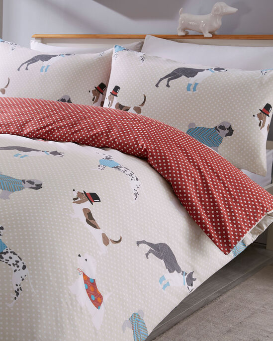 Dapper Dogs Duvet Set