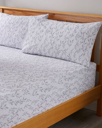 Ashley Fitted Sheet and Pillowcase Set