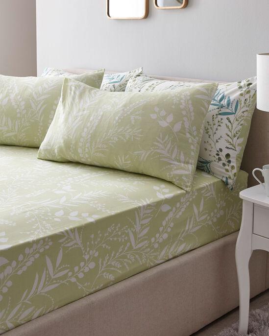 Fernworth Cotton Sheet and Pillowcase Set