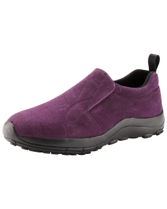 Lightweight Suede Slip-on Shoes