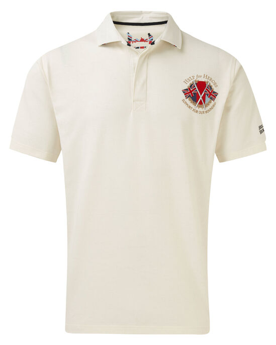 Help For Heroes Short Sleeve Embroidered Rugby Shirt