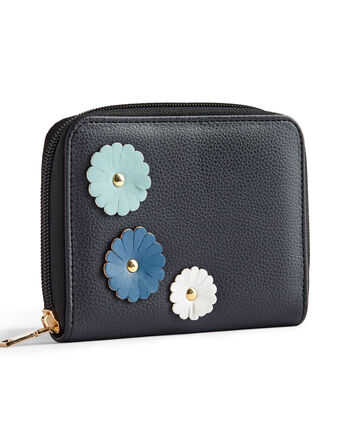 Flower Applique Purse