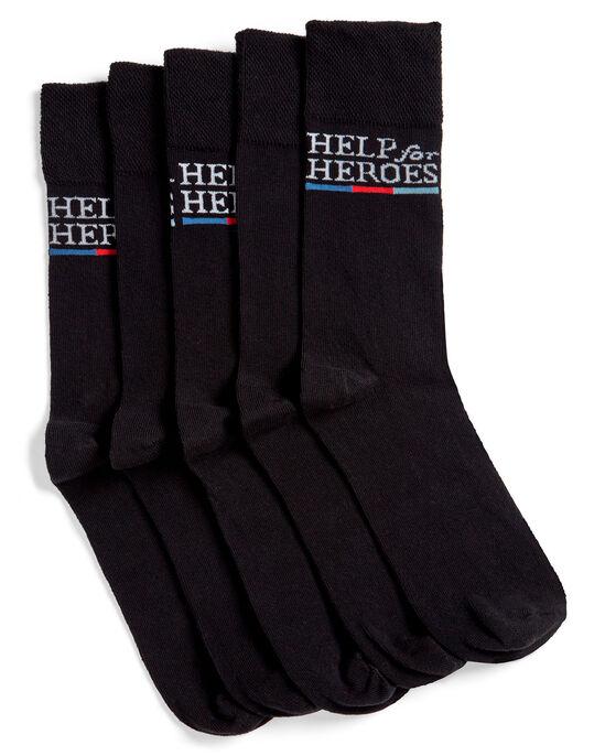 5pk H4H Comfort Top Socks