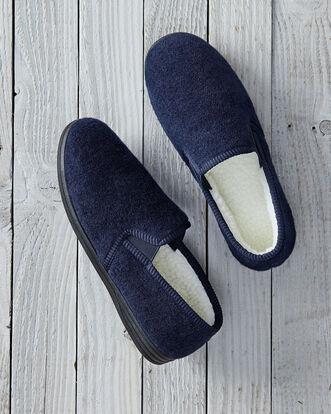 Sherpa Fleece Lined Slippers