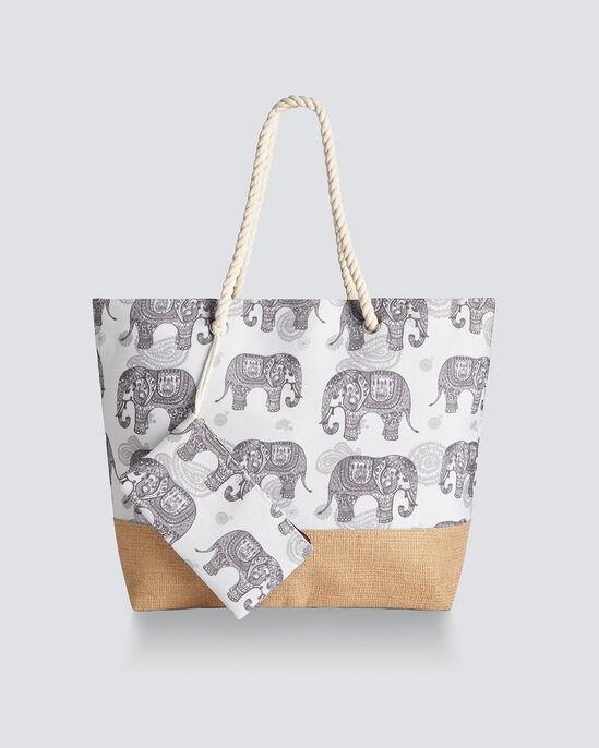 Elephant Bag and Purse Set
