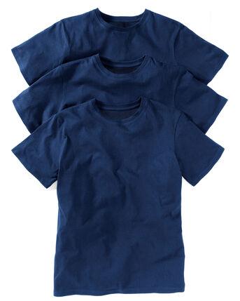 3 Pack Short Sleeve Vests