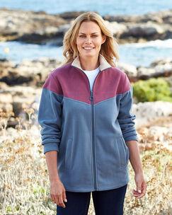 Luxury Fleece Zip Through Jacket