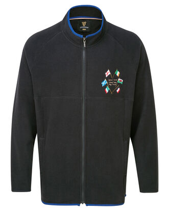 Guinness Six Nations Zip Through Fleece Jacket
