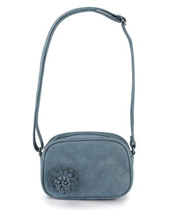 Flower Detail Cross Body Bag