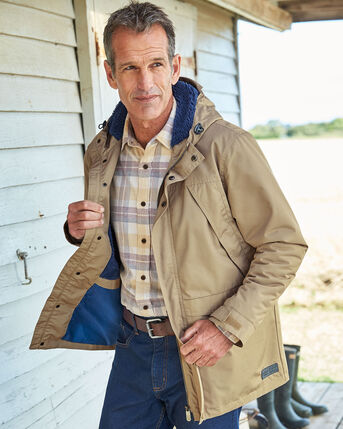 Whitcliffe Waterproof Fleece Lined Jacket