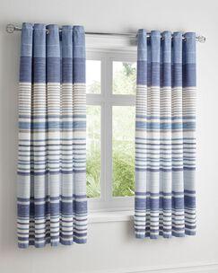 Nautical Stripe Eyelet Curtains
