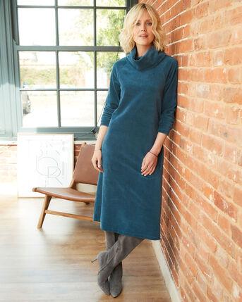 Super Soft Jersey Cord Midi Dress