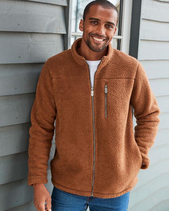 Bonded Sherpa Fleece Jacket