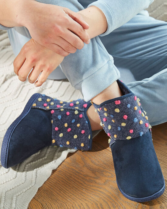 Spot Slipper Boots