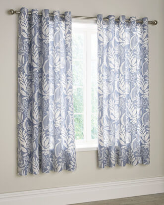 Portobello Eyelet Curtains 66x72""