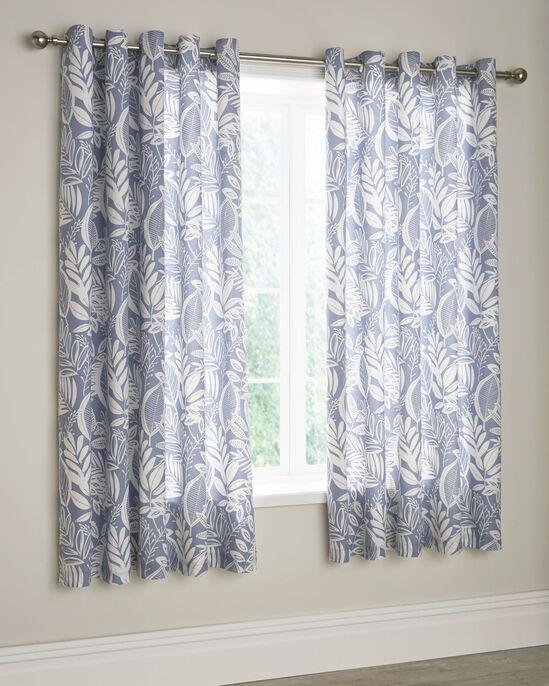 """Portobello Eyelet Curtains 66x72"""""""