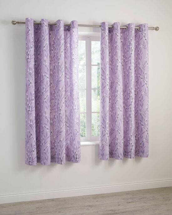 Willow Eyelet Curtains 66x72""