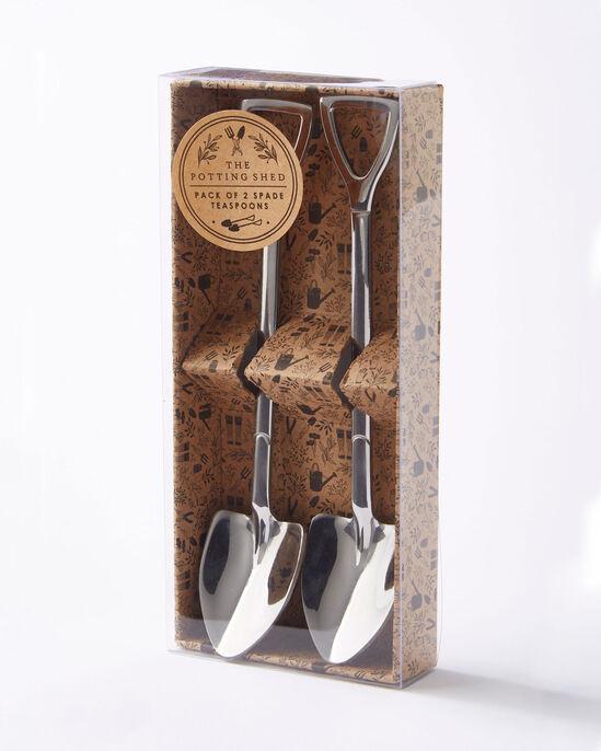 2 Pack Spade Novelty Teaspoons