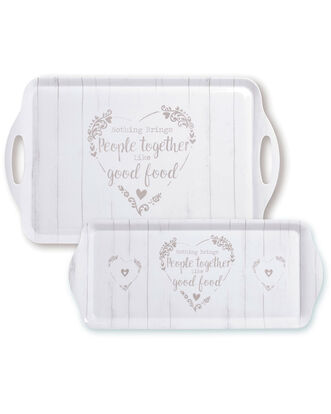 Pack of 2 Food For Thought Trays