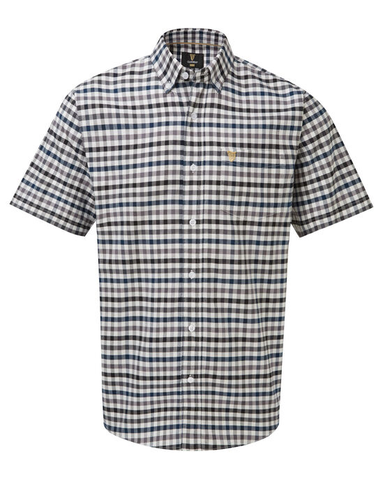 Guinness Short Sleeve Oxford Check Shirt
