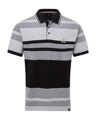 Guinness Tonal Stripe Polo Shirt
