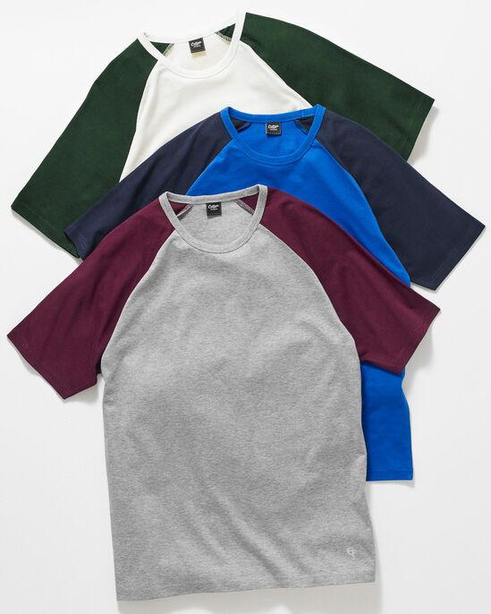 Short Sleeve Contrast T-shirt