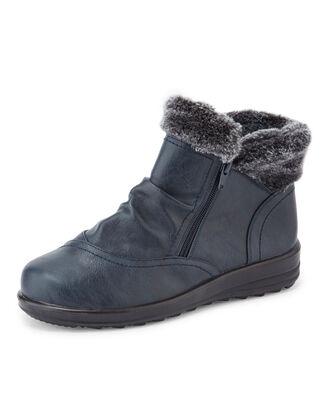 Flexisole Fur Cuff Boots