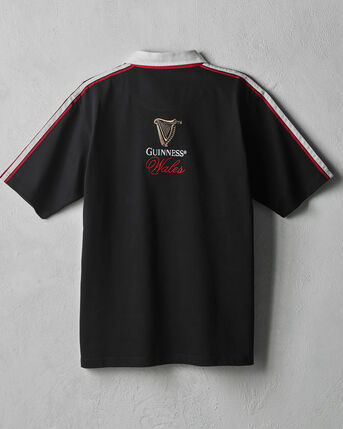 Guinness® Short Sleeve Wales Rugby Shirt