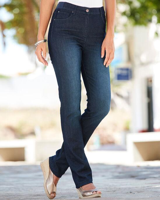 Magic Comfort Straight Leg Jeans