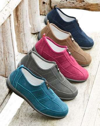 Suede Leisure Flex Trainers