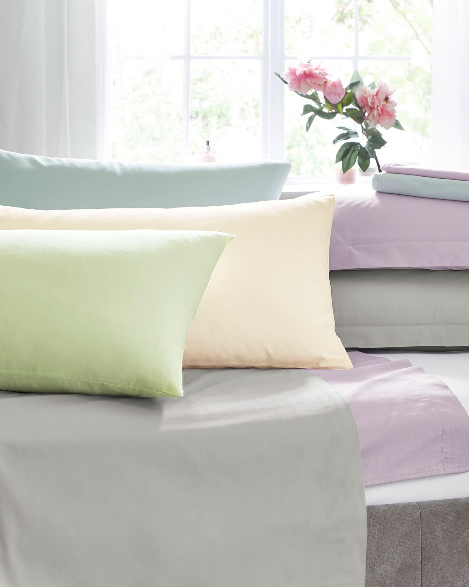 Duck Egg Pair of 200 TC Oxford Pillowcases