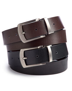 Reversible Leather Lined Belt