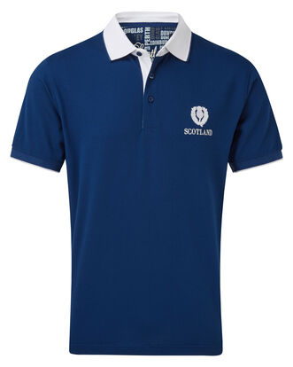Short Sleeve Scotland Classic Polo Shirt