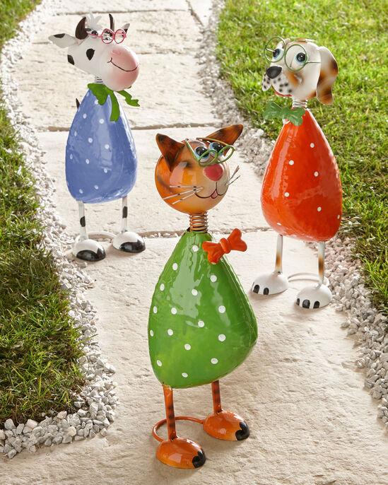 Polka Garden Ornaments
