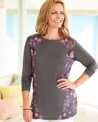 Jersey Back Printed Tunic