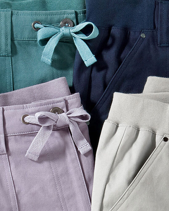 Wrinkle Free Tie Front Trousers