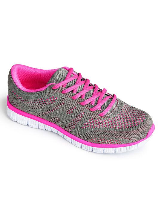 Ladies Lightweight Flexi Comfort Trainers