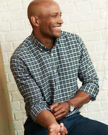 Guinness® Long Sleeve Oxford Check Shirt