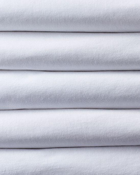 Pack of 5 Short Sleeve V Neck Vests