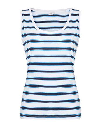 Wrinkle Free Stripe Vest